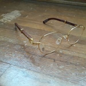 Other - Cartier gold rimmed glasses